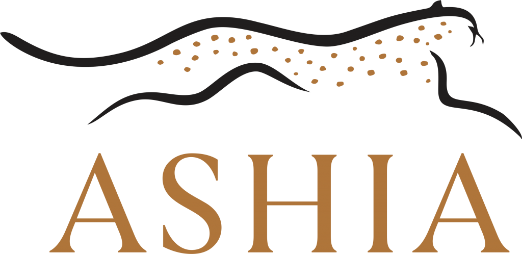 Home page ofAshia Cheetah Sanctuary logo.