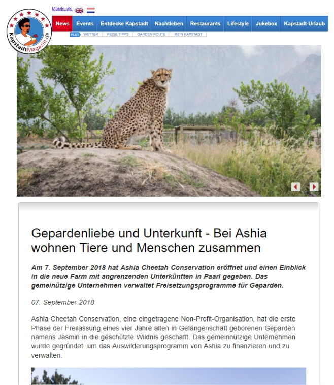 Ashia Cheetah Conservation_Kapstadtmagazin_07Sep 2018