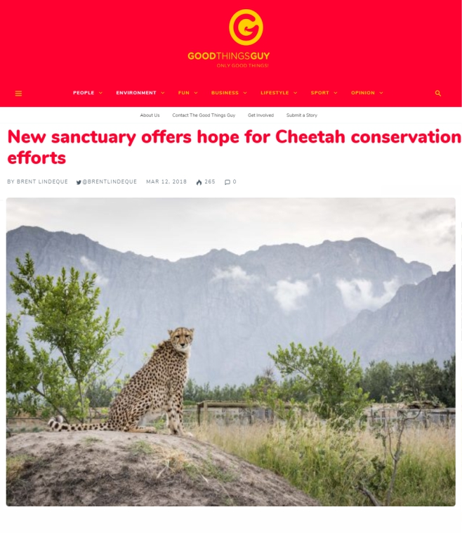 News-Aricle-New-Cheetah-Sanctuary